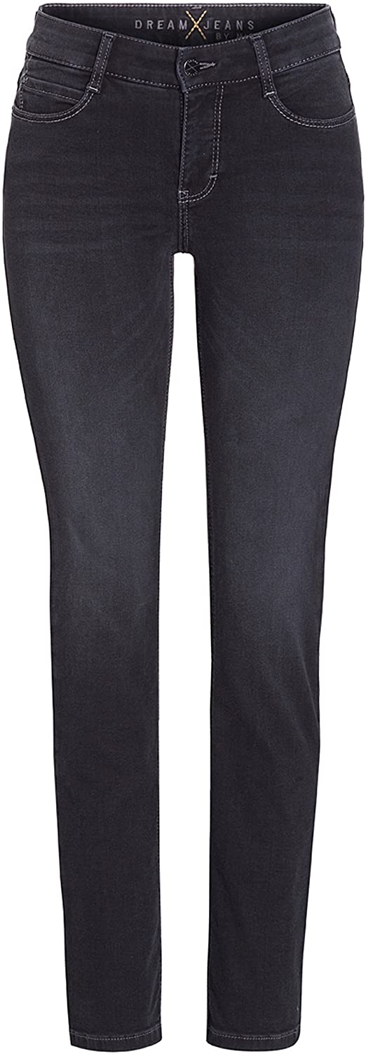 Mac Jeans Jeans Mac Dream 5401 Jeans Straight Leg D925 Soft Black izzi-of-baslow