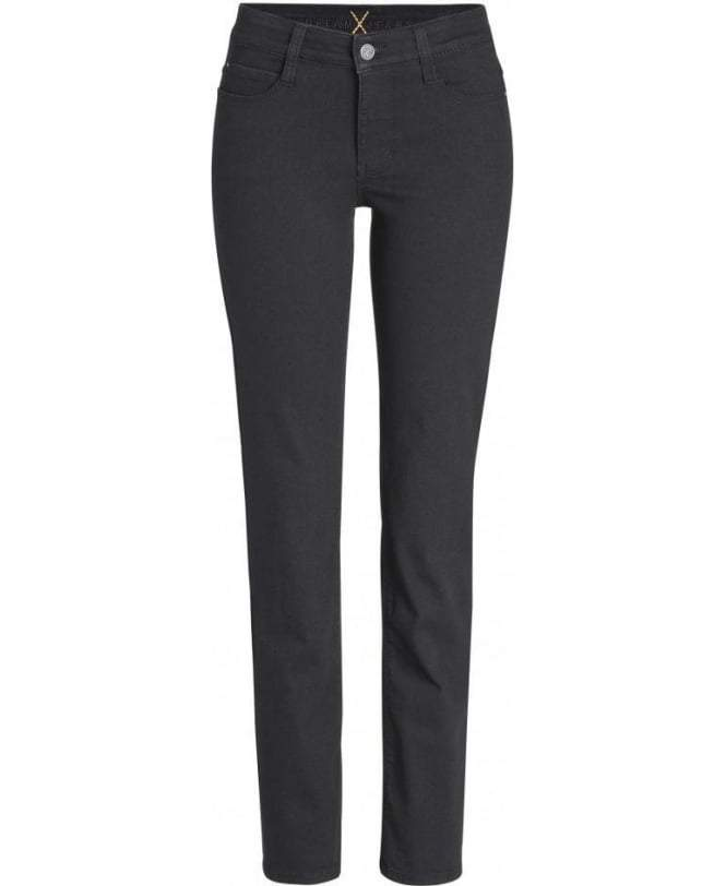 Mac Jeans Jeans Mac Dream 5401 Jeans Straight Leg Dark Brown izzi-of-baslow