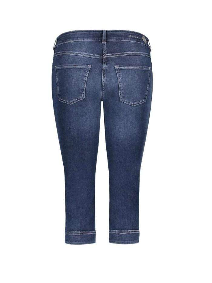 Mac Jeans Jeans Mac Dream Capri Cropped Jeans 5469 0355 D853 Dark Used Denim N izzi-of-baslow