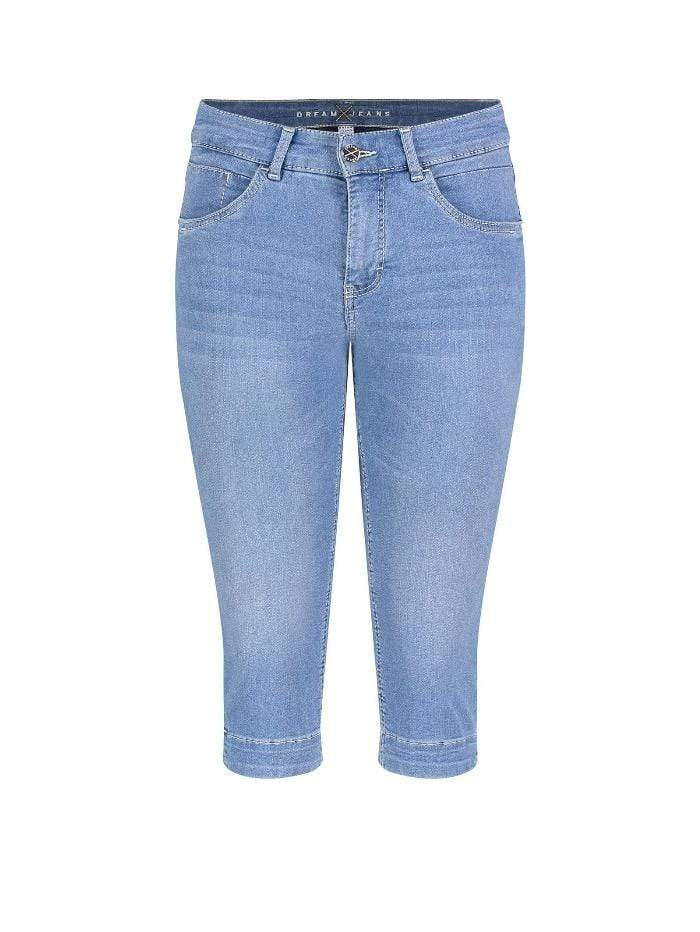 Mac Jeans Jeans Mac Dream Capri Jeans 5469 0355 D501 Light Mid Blue S izzi-of-baslow