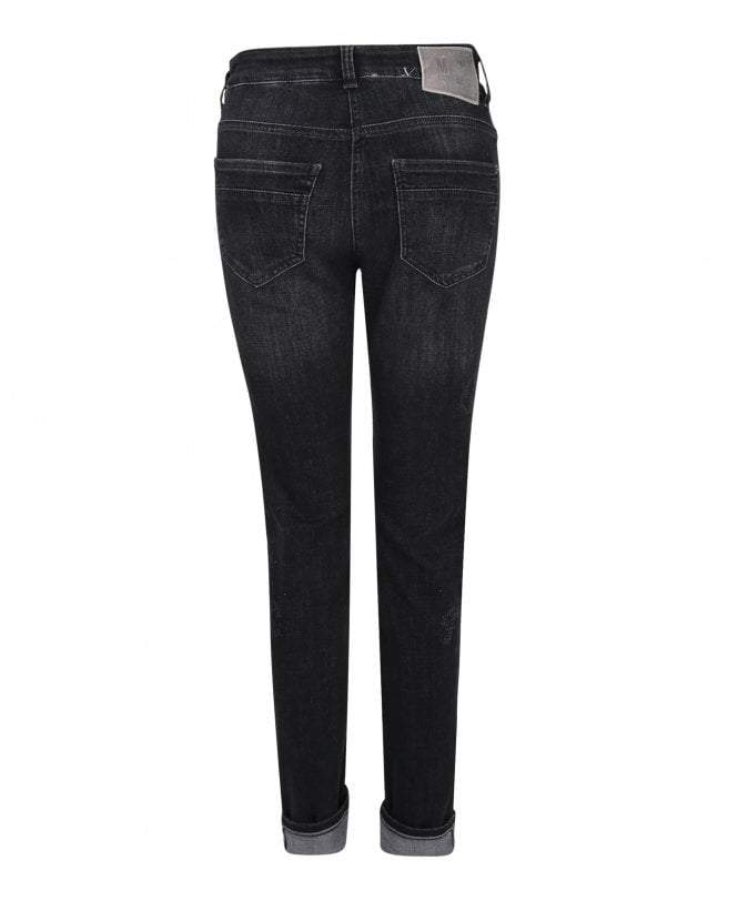 Mac Jeans Jeans Mac Dream Rich Slim Sparkle 5904 Jeans D993 Black Laser Wash izzi-of-baslow
