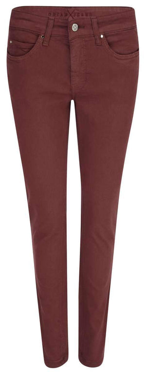 Mac Jeans Jeans Mac Dream Skinny 5402 Jeans 495R Rust Red izzi-of-baslow