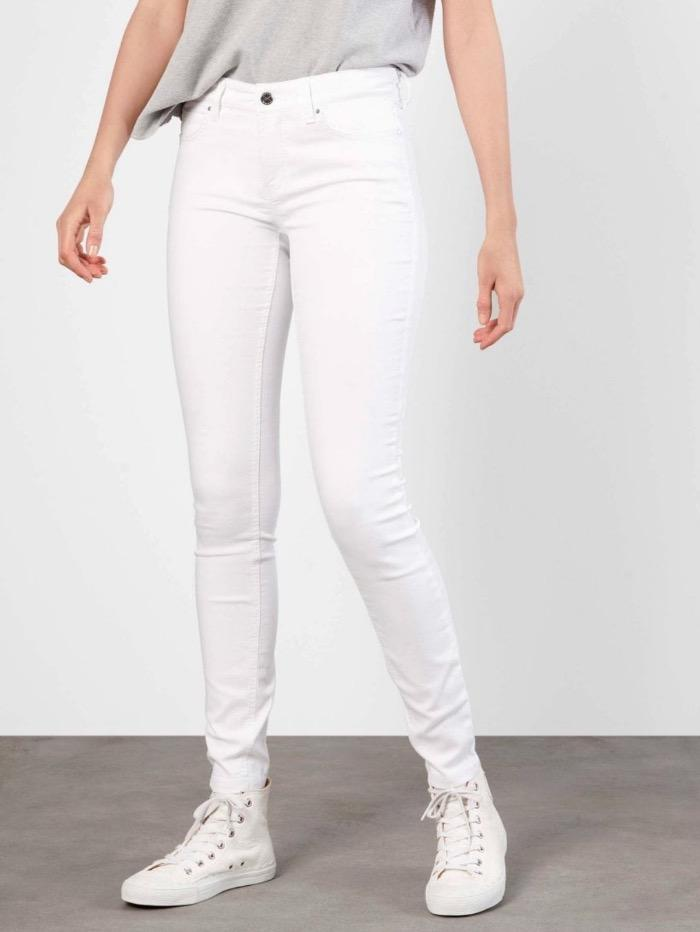 Mac Jeans Jeans Mac Dream Skinny Jeans 5402 0355L D010 White Denim izzi-of-baslow