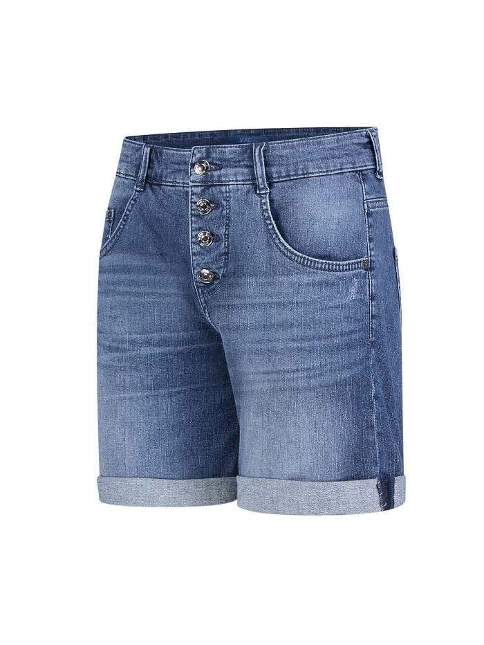 Mac Jeans Jeans Mac Jean Short 2393 0392 D516 Mid Denim Blue izzi-of-baslow