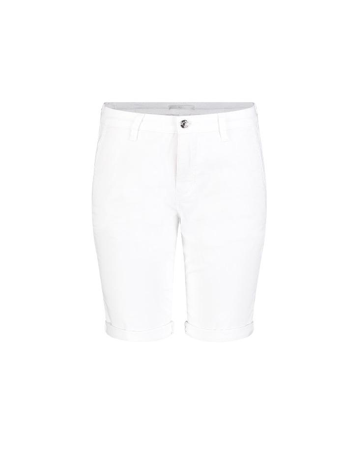 Mac Jeans Jeans Mac White Chino Short 3069 0408 010 izzi-of-baslow