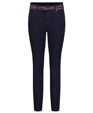 Mac Jeans Jeans One Size Mac 5408 Jeans One For All D647 Blue Denim izzi-of-baslow
