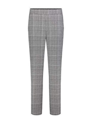 Mac Jeans Trousers Mac Chiara Galloon 2172 Checked Trousers izzi-of-baslow