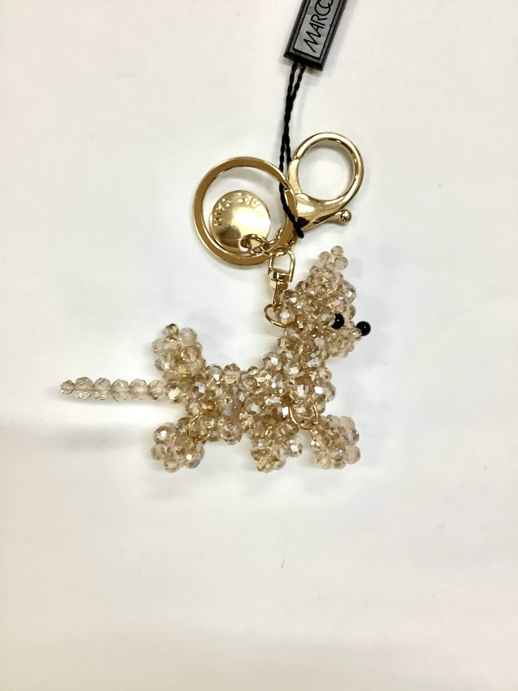 Marc Cain Accessories One Size Marc Cain Crystal Beaded Key Ring/Bag Charm KC G7.01 Z04 izzi-of-baslow