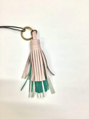 Marc Cain Accessories One Size Marc Cain Fringe Tassel Key Ring/Bag Charm GC G7.03 L45 izzi-of-baslow