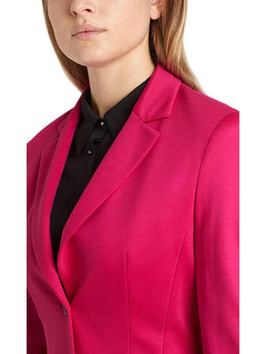 Marc Cain Additions Coats & Jackets Marc Cain Additions Jersey Pink Jacket QA 34.02 J24 242 Y izzi-of-baslow