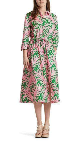 Marc Cain Additions Dresses 2 Marc Cain Printed shirt dress NA 21.29 W09 izzi-of-baslow