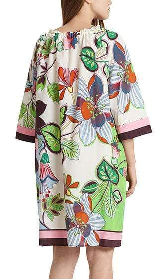 Marc Cain Additions Dresses Marc Cain Additions Dress with silk NA 21.09 W08 izzi-of-baslow