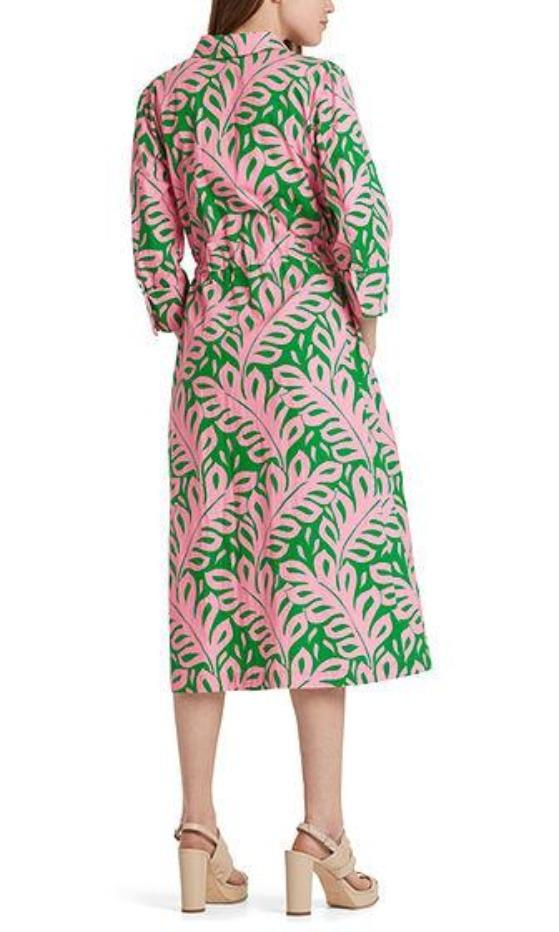 Marc Cain Additions Dresses Marc Cain Printed shirt dress NA 21.29 W09 izzi-of-baslow
