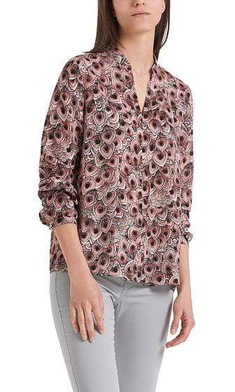 Marc Cain Additions Tops Marc Cain Additions Elegant Blouse with print PA 51.07 W38 izzi-of-baslow