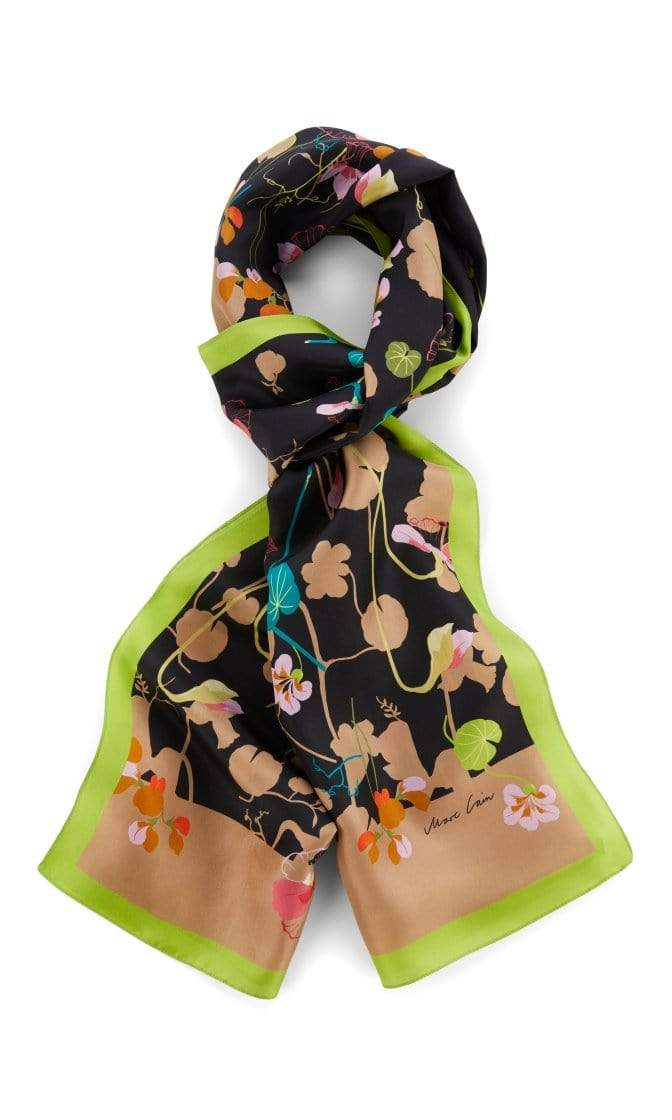 Marc Cain Collections Accessories One Size Marc Cain Collections Printed Silk Scarf PC B4.15 Z11 izzi-of-baslow