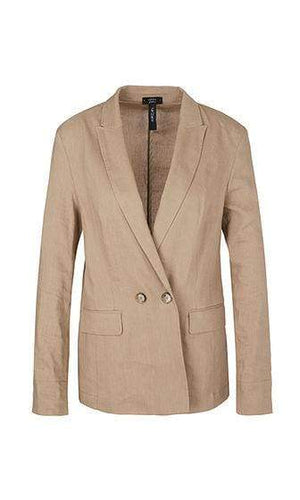 Marc Cain Collections Coats and Jackets 1 Marc Cain Lightweight blazer in linen blend NC 34.29 W47 izzi-of-baslow
