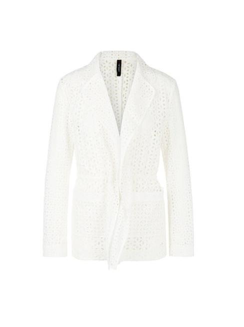 Marc Cain Collections Coats and Jackets 2 Marc Cain Collections Broderie Anglaise Off-White NC 34.28 W69 izzi-of-baslow