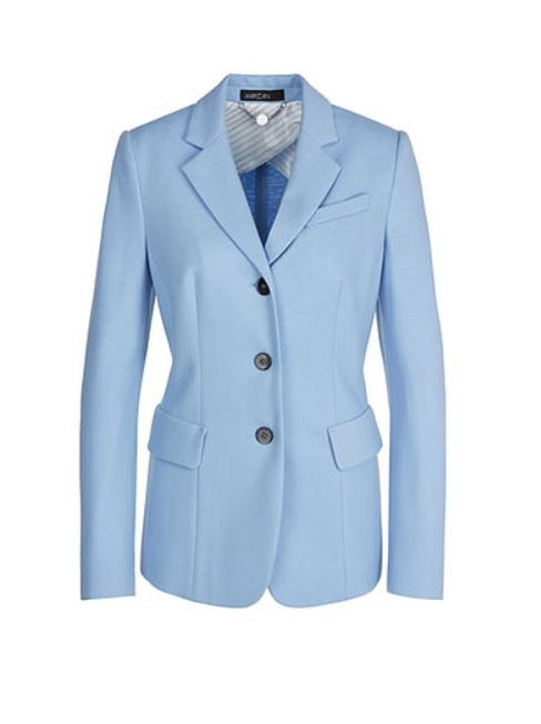 Marc Cain Collections Coats and Jackets 3 Marc Cain Collections Wool Blazer Gouache NC 34.03 J42 izzi-of-baslow