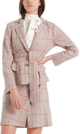 Marc Cain Collections Coats and Jackets Marc Cain Collections Blazer in Wool Jersey PC 34.32 J39 izzi-of-baslow