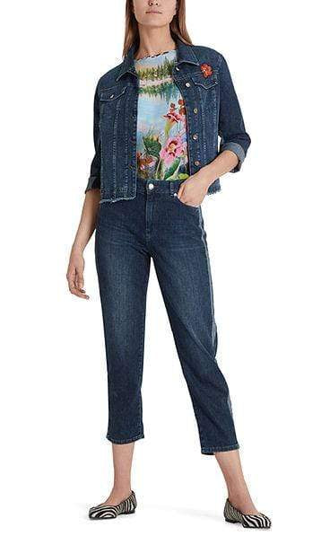 Marc Cain Collections Coats and Jackets Marc Cain Collections Denim Jacket PC 31.22 D14 izzi-of-baslow