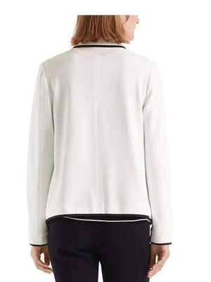 Marc Cain Collections Coats and Jackets Marc Cain Collections Elegant Blazer Off-White NC 31.36 J02 izzi-of-baslow