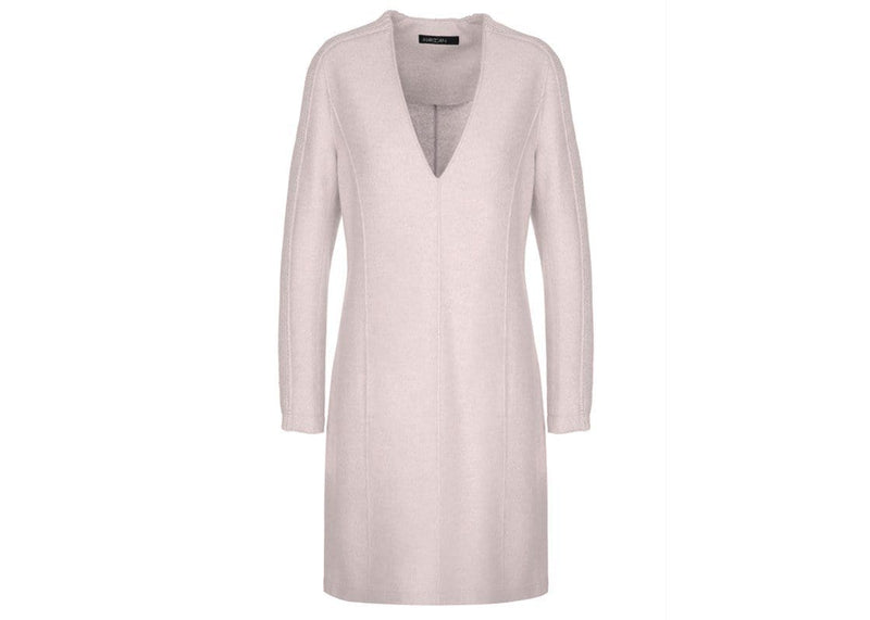 Marc Cain Collections Coats and Jackets Marc Cain Collections Pure Wool Nude Dress MC 21.44 J30 izzi-of-baslow