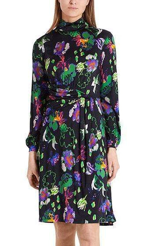 Marc Cain Collections Dresses Marc Cain Collections Draped Look Dress PC 21.15 J05 izzi-of-baslow