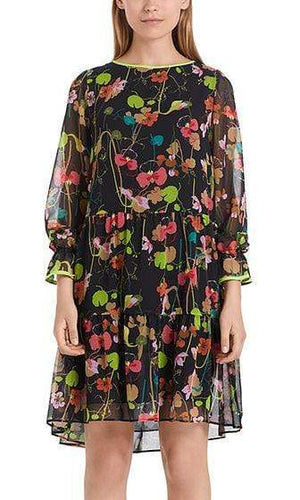 Marc Cain Collections Dresses Marc Cain Collections Dress Colour Pea PC 21.53 W15 izzi-of-baslow