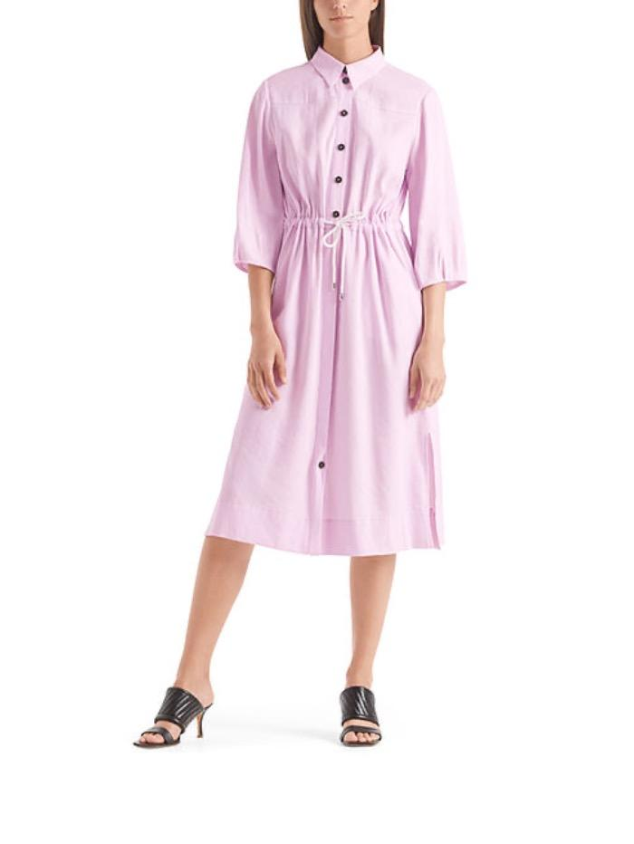 Marc Cain Collections Dresses Marc Cain Collections Linen Mix Dress  QC 21.61 W47 702 izzi-of-baslow