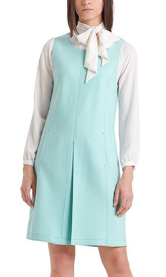Marc Cain Collections Dresses Marc Cain Collections Sleeveless Felt Dress PC 21.49 J30 izzi-of-baslow
