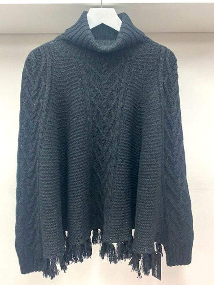 Marc Cain Collections Knitwear Marc Cain Collections Cape 900 PC 14.05 M18 izzi-of-baslow