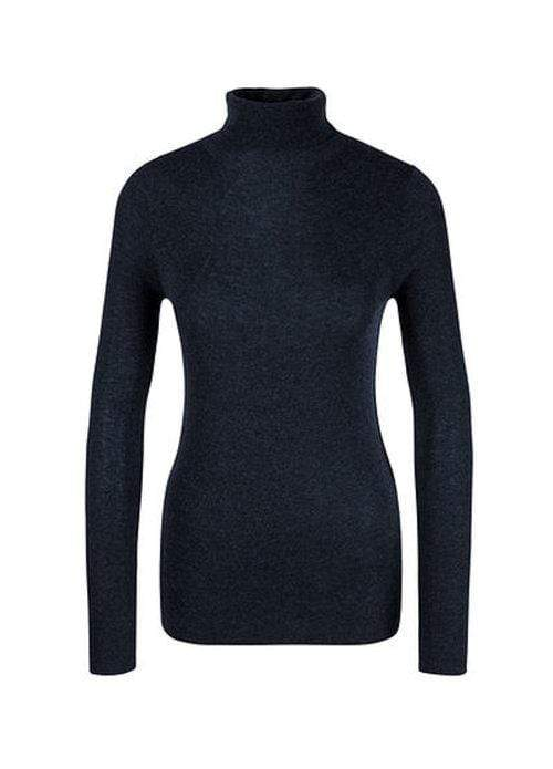 Marc Cain Collections Knitwear Marc Cain Collections Cosy Polo Neck Jumper MC 41.05 M53 izzi-of-baslow