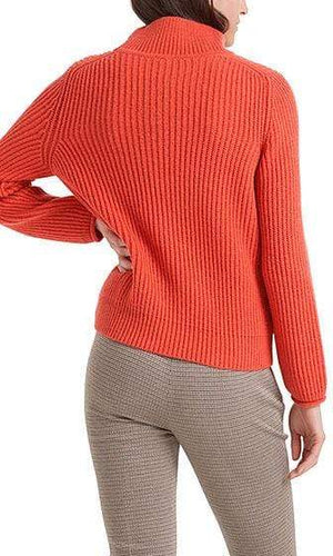 Marc Cain Collections Knitwear Marc Cain Collections Sweater in Fire 274 PC 41.74 M18 izzi-of-baslow