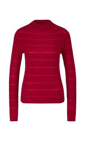 Marc Cain Collections Knitwear Marc Cain Collections Sweater with Cashmere  288 PC 41.11 M55 izzi-of-baslow