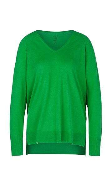 Marc Cain Collections Knitwear Marc Cain Collections Sweater with Silk and Cashmere PC 41.09 M50 izzi-of-baslow