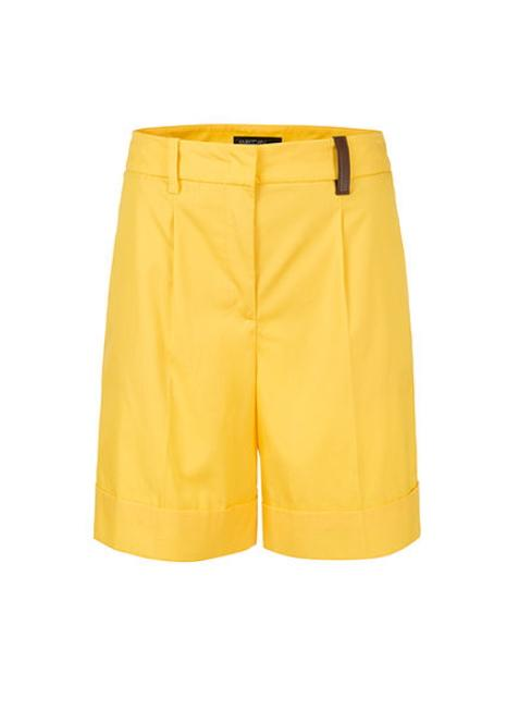 Marc Cain Collections Shorts 2 Marc Cain Collections Cotton Shorts Saffron Yellow NC 83.02 W60 izzi-of-baslow