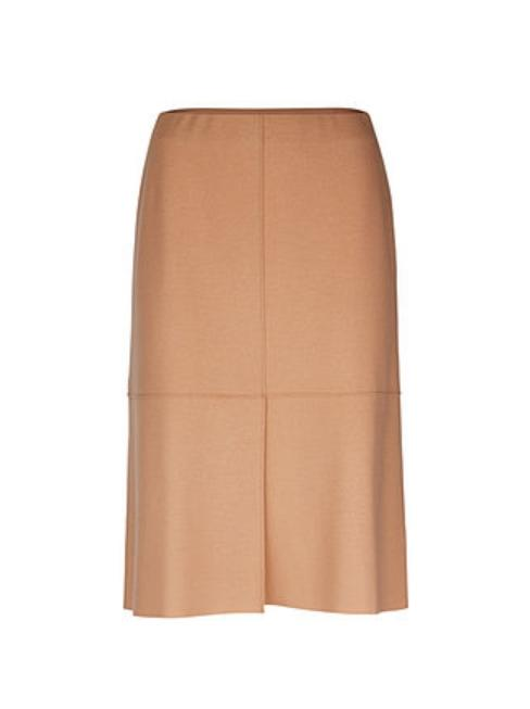 Marc Cain Collections Skirts 4 Marc Cain Collections Wool Jersey Skirt Caramel MC 71.13 J42 izzi-of-baslow