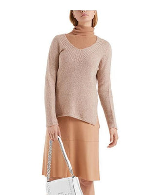 Marc Cain Collections Skirts Marc Cain Collections Wool Jersey Skirt Caramel MC 71.13 J42 izzi-of-baslow
