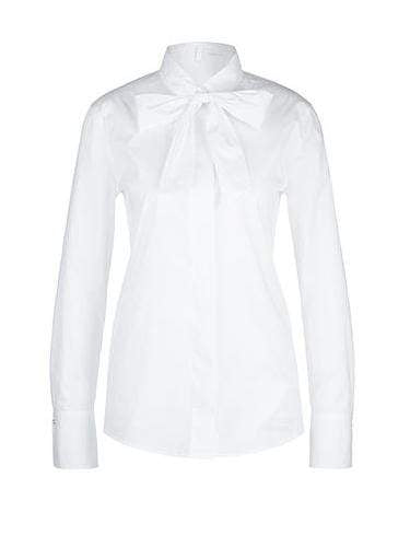 Marc Cain Collections Tops 1 Marc Cain Collections Stretchy Bow-neck Blouse LC 51.07 W80 izzi-of-baslow