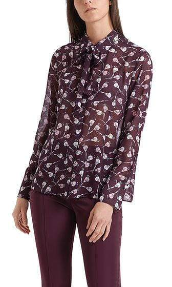 Marc Cain Collections Tops Marc Cain Collections Blouse with Mini Birds298 PC 51.29 W65 izzi-of-baslow