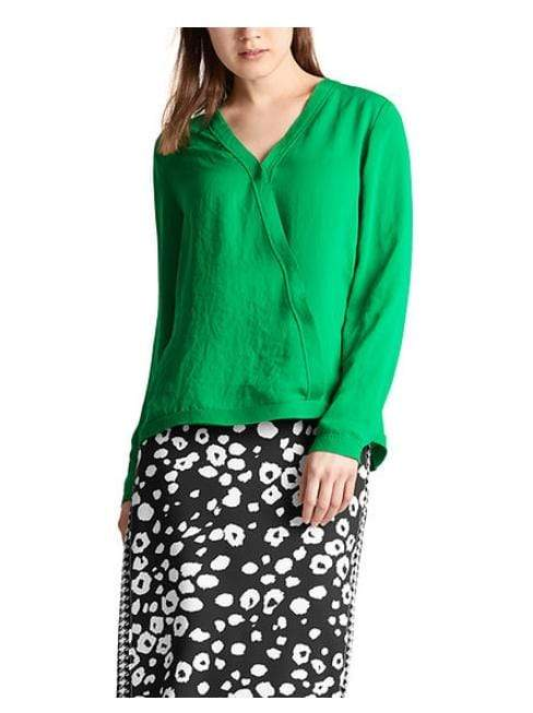 Marc Cain Collections Tops Marc Cain Collections Flowing Blouse Brazil MC 55.01 W39 izzi-of-baslow