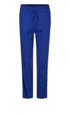 Marc Cain Collections Trousers 1 Marc Cain Collections Linen Blend Trousers Ultramarine NC 81.49 W47 izzi-of-baslow