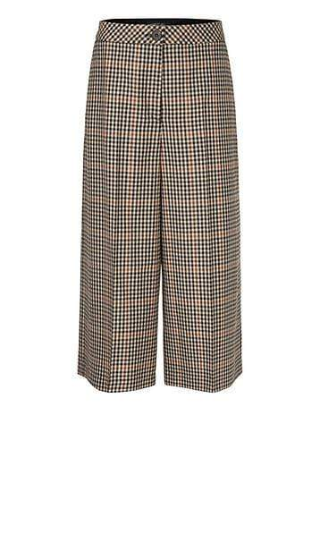 Marc Cain Collections Trousers Marc Cain Collections Checked Trousers in Pure New Wool PC 81.39 W35 izzi-of-baslow