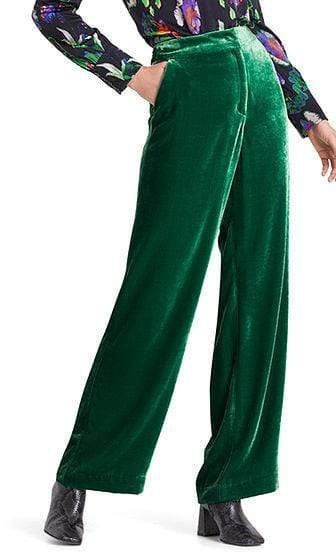Marc Cain Collections Trousers Marc Cain Collections Elegant Velvet Trousers PC 81.15 W20 izzi-of-baslow