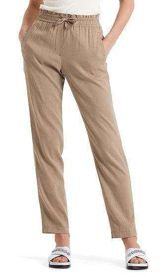 Marc Cain Collections Trousers Marc Cain Collections Linen Blend Trousers Clay NC 81.49 W47 izzi-of-baslow