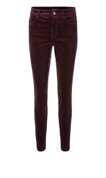 Marc Cain Collections Trousers Marc Cain Collections Slim Fitting Velvet Jeans 295 PC 82.81 W48 izzi-of-baslow