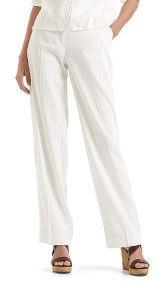 Marc Cain Collections Trousers Marc Cain Collections Stretch pants in linen blend NC 81.52 W47 izzi-of-baslow