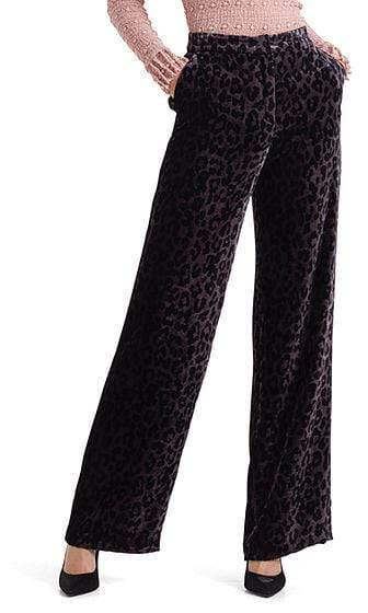 Marc Cain Collections Trousers Marc Cain Collections Trousers in Leopard Velvet 295 PC 81.15 W58 izzi-of-baslow