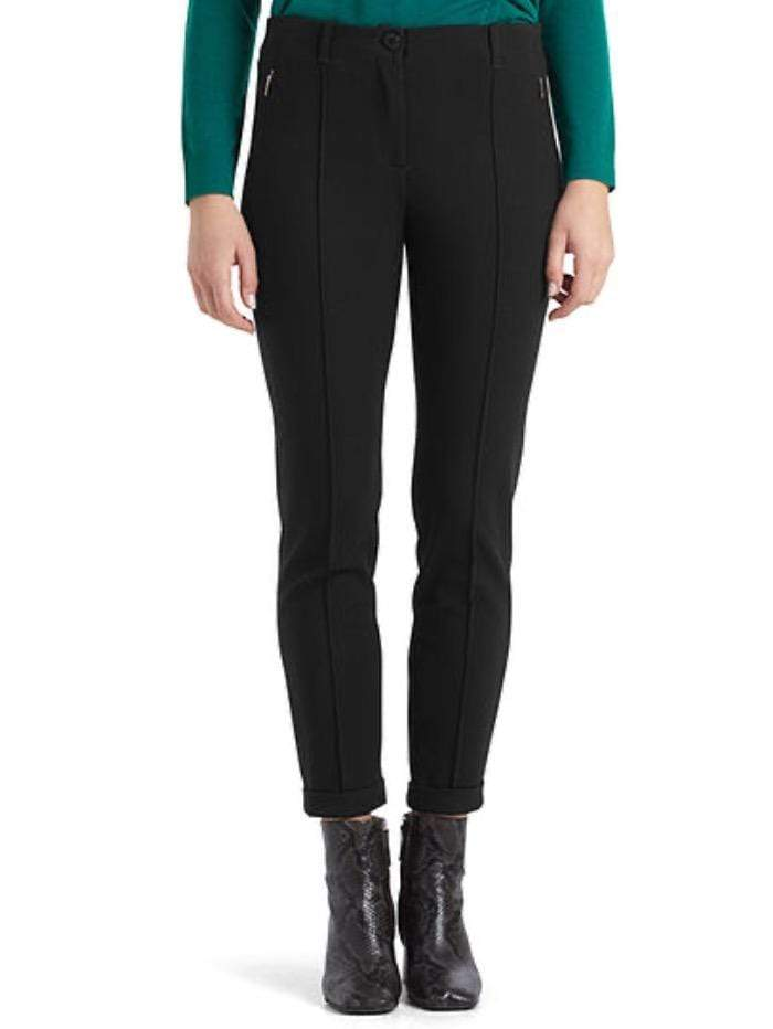 Marc Cain Collections Trousers Marc Cain Collections Black Jersey Trousers QC 81.32 J51 900 Y izzi-of-baslow