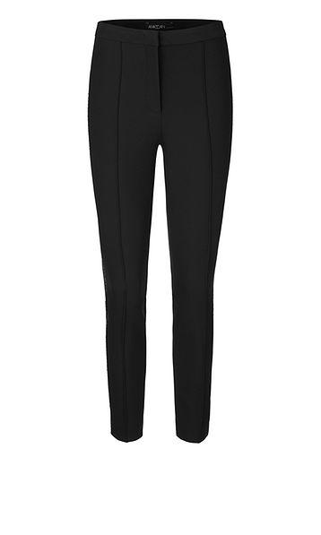 Marc Cain Collections Trousers Marc Cain Collections Trousers with Swarovski Crystals black 900 PC 81.48 W71 izzi-of-baslow